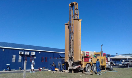 Drilling at Commercial Client